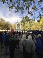 COLLEGNO - Al parco della Rimembranza le targhe ricordano la due Guerre Mondiali - immagine 4