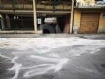 VENARIA - Autobus perde il gasolio e provoca il tamponamento fra tre auto - immagine 4