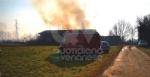 COLLEGNO - Incendio in un cascinale vicino alla statale 24 - immagine 4