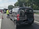 VENARIA-BORGARO - Scontro in tangenziale: tre auto coinvolte, due i feriti - immagine 4