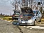 PIANEZZA - Scontro fra due auto in via La Cassa: due persone ferite - immagine 4