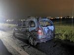 RIVOLI - Auto in fiamme in tangenziale: conducente riesce a mettersi in salvo - immagine 4
