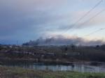 BORGARO - Incendio in azienda: colonna di fumo e aria irrespirabile - FOTO - immagine 4