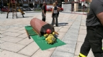 BORGARO - Bambini «pompieri per un giorno» grazie a «Pompieropoli» - immagine 6