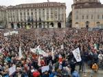 TORINO - In piazza per sostenere la Tav da tutti i Comuni della zona - FOTO - immagine 5