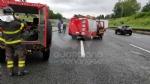 VENARIA REALE - Brutto incidente, tangenziale nord di Torino in tilt: due feriti al Maria Vittoria - FOTO - immagine 5