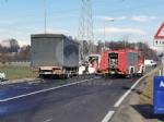 VENARIA - Scontro taxi-camion lungo la provinciale: un ferito FOTO - immagine 5