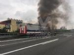 VENARIA-BORGARO - Il motore del tir prende fuoco: caos in tangenziale - immagine 5