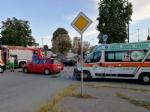 TORINO - VENARIA - Incidente allincrocio vicino alla Cittadella della Juve: tre feriti - immagine 5