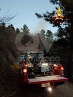 A FUOCO IL MUSINE - Pompieri ancora in azione: potrebbe essere un atto doloso - FOTO - immagine 5