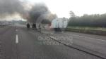 COLLEGNO - Furgone va a fuoco in tangenziale, e il traffico va in tilt - immagine 5