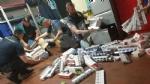 GRUGLIASCO - 500 kg di sigarette di contrabbando nascoste nei garage: 40enne denunciato - immagine 5