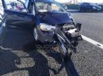 VENARIA - Incidente in tangenziale: due auto coinvolte e cinque feriti - immagine 5