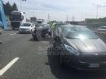 RIVOLI - Doppio incidente in tangenziale: sei auto coinvolte e cinque persone rimaste ferite - immagine 5