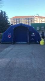 CORONAVIRUS - Allospedale di Rivoli e al Polo Sanitario di Venaria arriva la tenda pre-triage - immagine 5