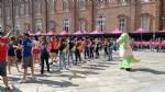 GIRO DITALIA A VENARIA - Grande folla per la carovana del Giro - FOTO - immagine 5