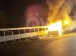 CASELLE - Auto a fuoco mentre percorreva la ex statale - immagine 5
