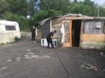 CAMPO NOMADI - Maxi blitz dei carabinieri contro roghi tossici e furti: 14 arresti - FOTO E VIDEO - immagine 5