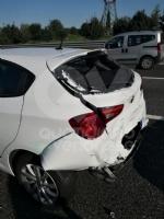 COLLEGNO - Maxi tamponamento in tangenziale : cinque mezzi coinvolti, un ferito - immagine 5