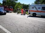 VENARIA - Grave incidente sulla Sp1: scontro tra due auto finite nella scarpata - FOTO e VIDEO - immagine 5