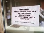 VENARIA-RIVOLI - «#InSilenzioComelaRegione», la protesta dei sindacati negli ospedali Asl To3 - FOTO E VIDEO - immagine 5
