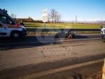 DRUENTO - Scontro fra auto e moto: centauro ferito - immagine 5