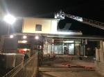 ALPIGNANO - A fuoco il tetto della panetteria di via Garibaldi: ingenti i danni - immagine 5