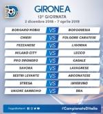 CALCIO SERIE D - Borgaro Nobis nel girone A: ecco il calendario del campionato - immagine 13