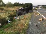 COLLEGNO-VOLPIANO - Furgone carico di frutta finisce fuori strada: 42enne rimasto ferito - immagine 5