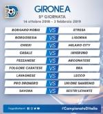 CALCIO SERIE D - Borgaro Nobis nel girone A: ecco il calendario del campionato - immagine 5