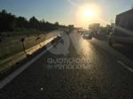 TORINO-VENARIA - Perde il controllo del mezzo pesante e danneggia i jersey in cemento in tangenziale - immagine 5