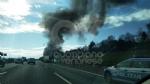 VENARIA - Auto a fuoco mentre percorre la tangenziale - immagine 5