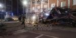 BORGARO - CROLLA IL PONTEGGIO DI UN PALAZZO: ATTIMI DI TERRORE IN VIA INGHILTERRA - FOTO - immagine 5