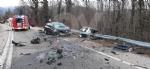 TRAGEDIA A CAFASSE - Scontro fra tre auto, una finisce nella scarpata: morta donna di 60 anni - immagine 6