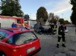 TORINO - VENARIA - Incidente allincrocio vicino alla Cittadella della Juve: tre feriti - immagine 6