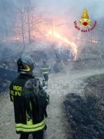 A FUOCO IL MUSINE - Pompieri ancora in azione: potrebbe essere un atto doloso - FOTO - immagine 6