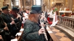 VENARIA - I musici venariesi del Giuseppe Verdi hanno festeggiato Santa Cecilia - FOTO - immagine 6