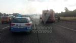 COLLEGNO - Furgone va a fuoco in tangenziale, e il traffico va in tilt - immagine 6