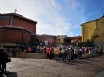 RIVOLI - Laddio a Massimiliano Pirrazzo: una folla commossa in chiesa per lultimo saluto - FOTO - immagine 6
