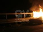 CASELLE - Auto a fuoco mentre percorreva la ex statale - immagine 6