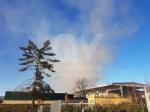 COLLEGNO - Inferno alla «Cascina Serpera»: a fuoco il fienile dellazienda agricola Bosco - immagine 6