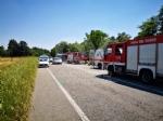 VENARIA - Grave incidente sulla Sp1: scontro tra due auto finite nella scarpata - FOTO e VIDEO - immagine 6