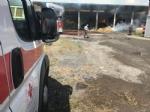 BORGARO - Incendio cascinale: proseguiranno fino a notte fonda le operazioni di messa in sicurezza - immagine 6