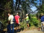 BORGARO - Associazioni e cittadini uniti per ripulire il Chico dopo il maltempo - immagine 6