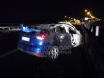 RIVOLI - Incidente in tangenziale: una macchina prende fuoco. Quattro persone rimaste ferite - immagine 6