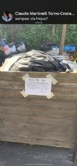 RIVOLI - La gru è in mezzo a via Frejus: forti disagi per la raccolta dei rifiuti - immagine 6