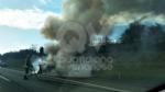 VENARIA - Auto a fuoco mentre percorre la tangenziale - immagine 6