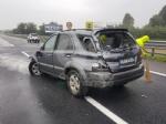INCIDENTE IN TANGENZIALE - Due auto si scontrano per colpa della pioggia: un ferito - immagine 7