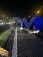 VENARIA - Tamponamento in tangenziale tra unauto e tre furgoni: una donna ferita - FOTO - immagine 7
