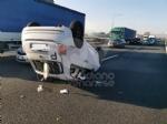 COLLEGNO - Si ribalta con la 500 in tangenziale: ferito 23enne di Collegno - immagine 7